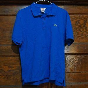 Lacoste Live Polo size 6  Royal Blue